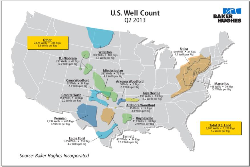 Victory Energy VYEY Stock Message Board InvestorsHub - Oil production map us